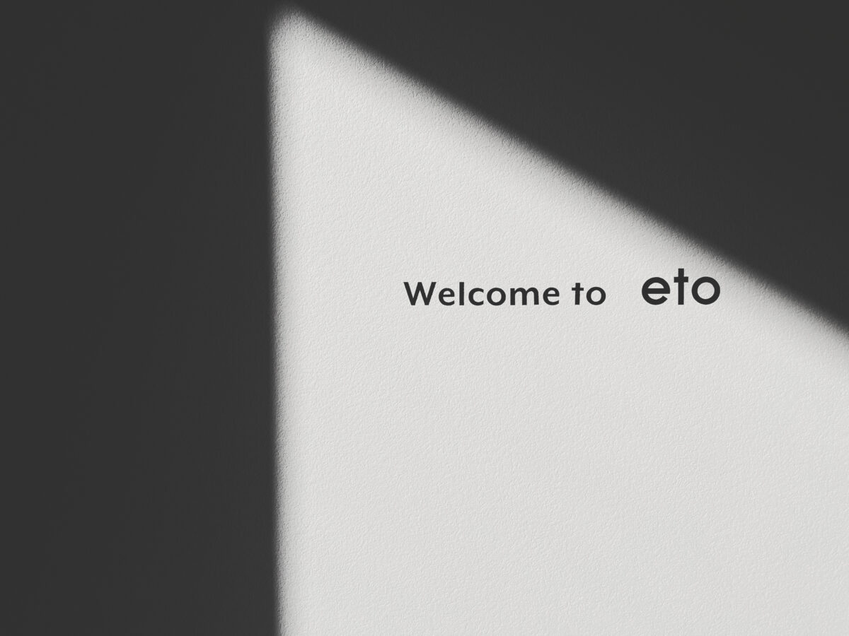 Welcome to eto